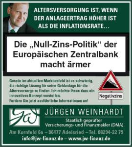 Die Null-Zins-Politik der Europäischen Zentralbank macht ärmer!