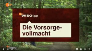 Video Vorsorgevollmacht