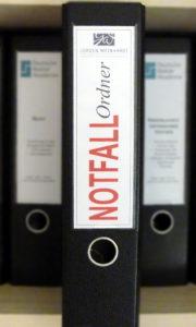 Notfall-Ordner