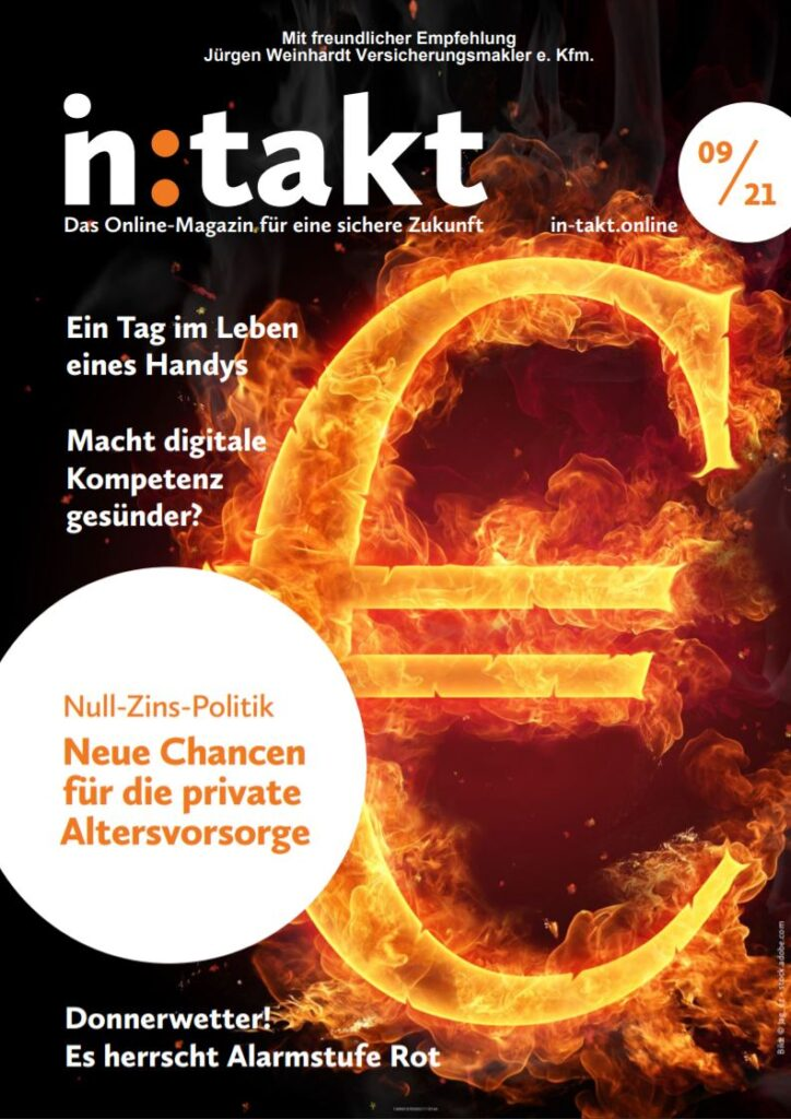 Kundenmagazin in:takt 09/21
